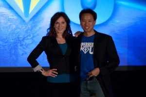 Marilu Henner and Jim Kwik at SuperheroYou 2012